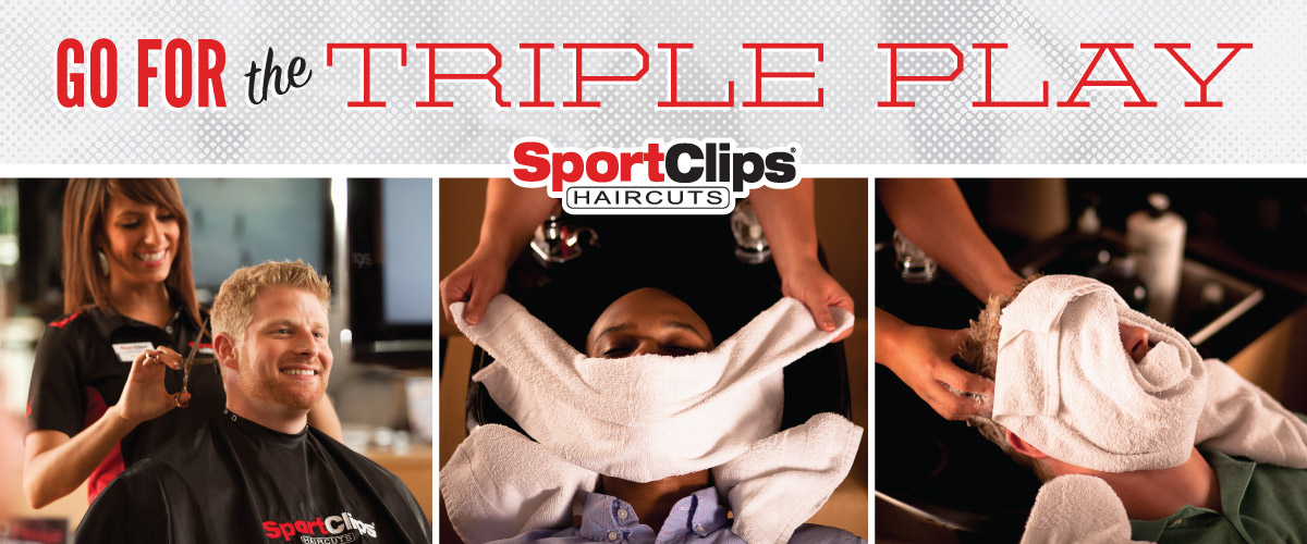 The Sport Clips Haircuts of Dothan Triple Play